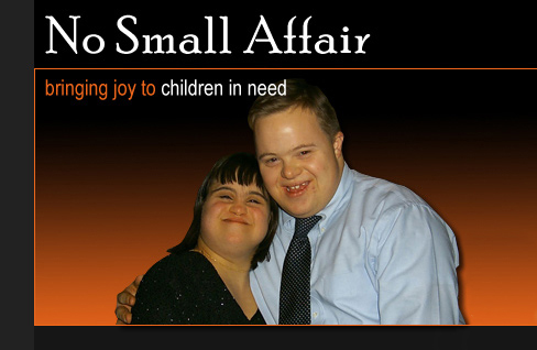 No Small Affair - bringing joy to children in need
